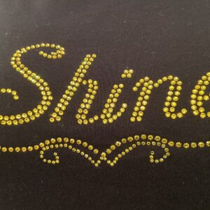 Shine Fitted T-Shirt