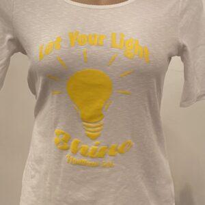 Let You Light Shine Shirt (White)